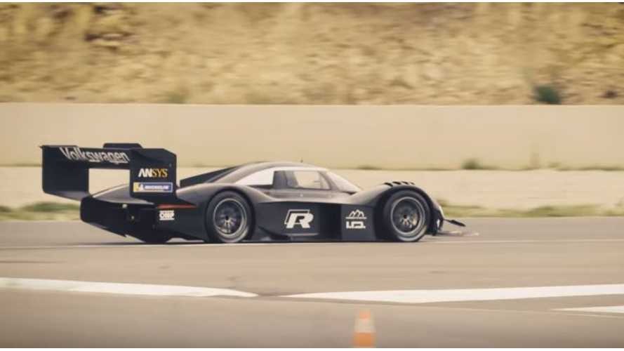 Watch Volkswagen I.D. R Hit The Track For First Time
