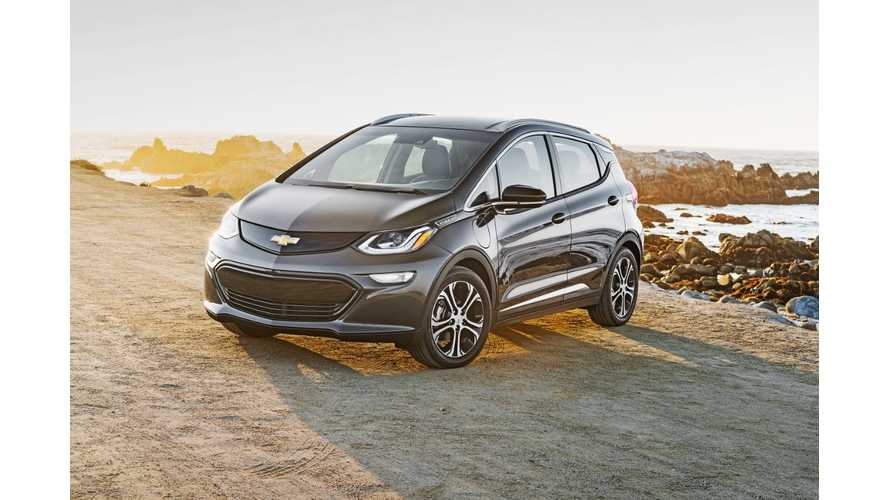 Chevrolet Bolt EV In Canada Priced At $42,795 - Includes Fast Charging, Arrives Early 2017
