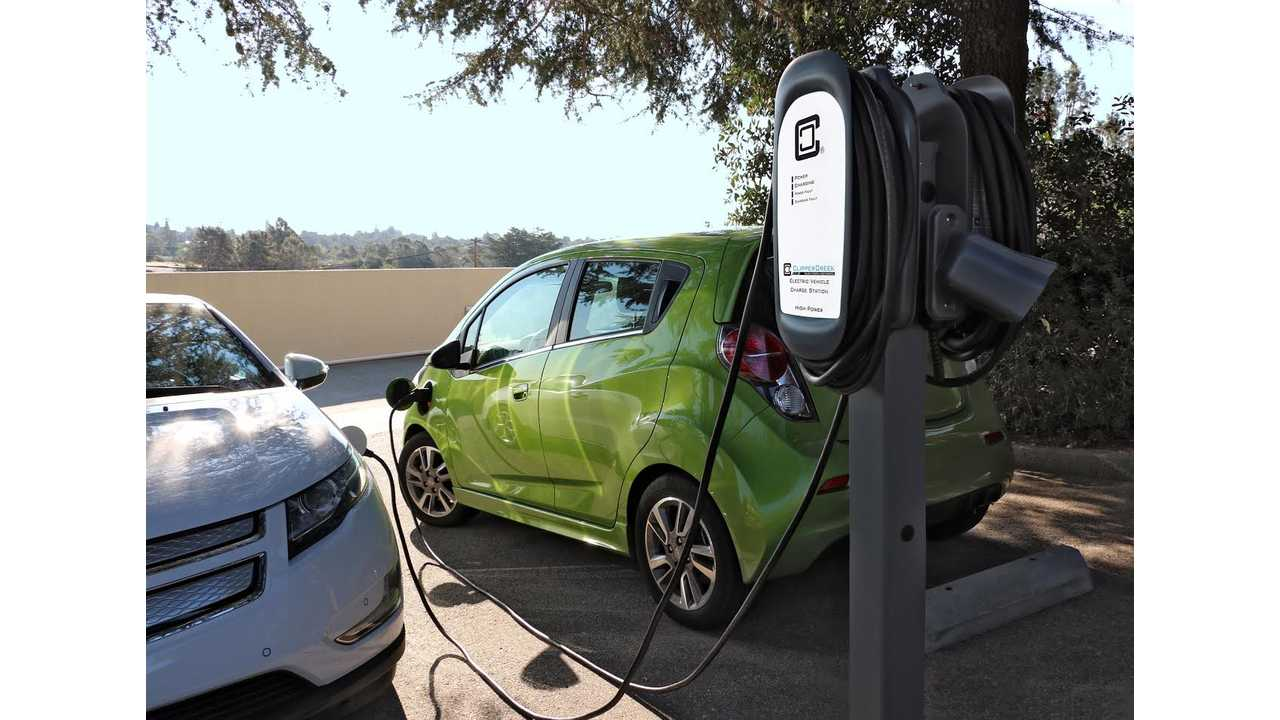 ClipperCreek Power Sharing Product Lets You Turn One Charging Station Into Two