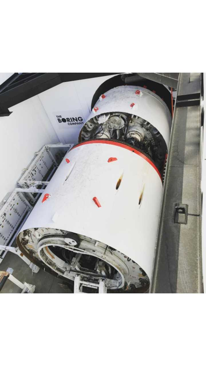 Elon Musk Reveals Real Electric Sled, Boring Company Tunnel