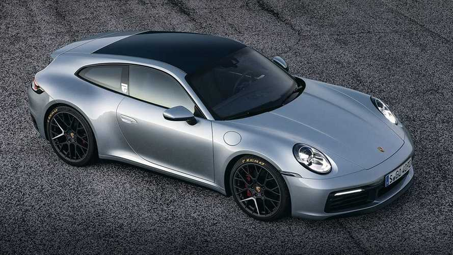 New Porsche 911 rendered as a shooting brake