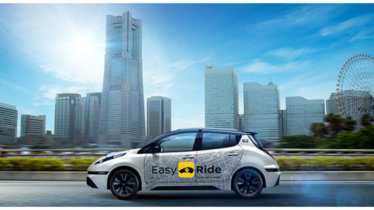 Nissan and DeNA will recruit participants for a field test of the Easy Ride mobility service in Yokohama, Japan