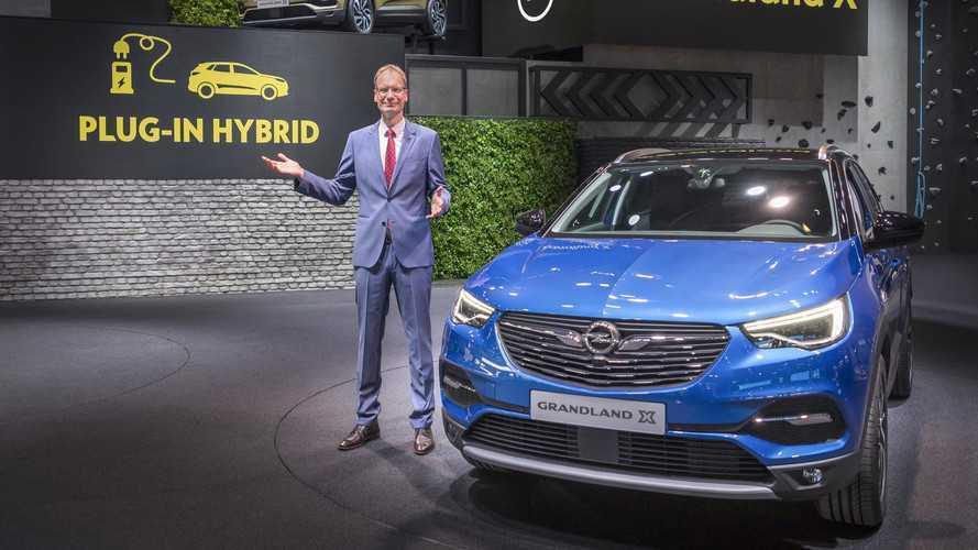 Opel Unveils Grandland X PHEV