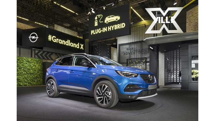 Opel Grandland X PHEV Announced From Frankfurt: Photos & Videos