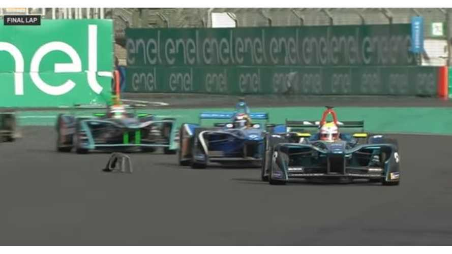 Formula E Mexico City ePrix Race Highlights - Video