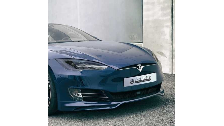 Unplugged Performance Unveils Refreshed Front Fascia Upgrade For Older Tesla Model S