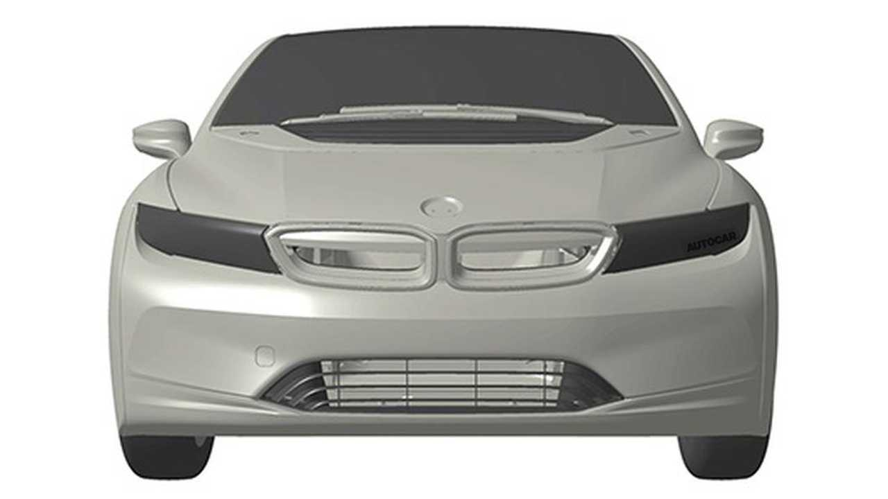 Patent Drawings Possibly Reveal New BMW i4/i5 Electric Hatchback
