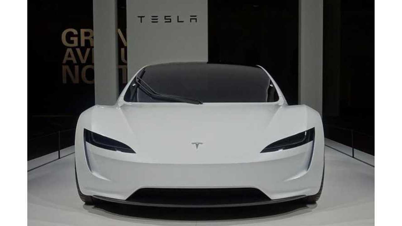 UPDATE: Tesla Roadster Makes European Debut At Grand Basel