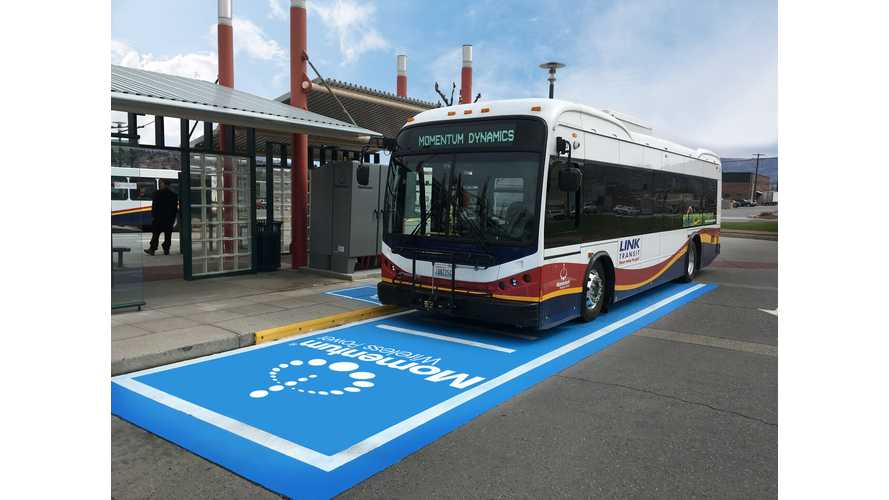 Huge Wireless Charging Bus Project Announced In Indianapolis