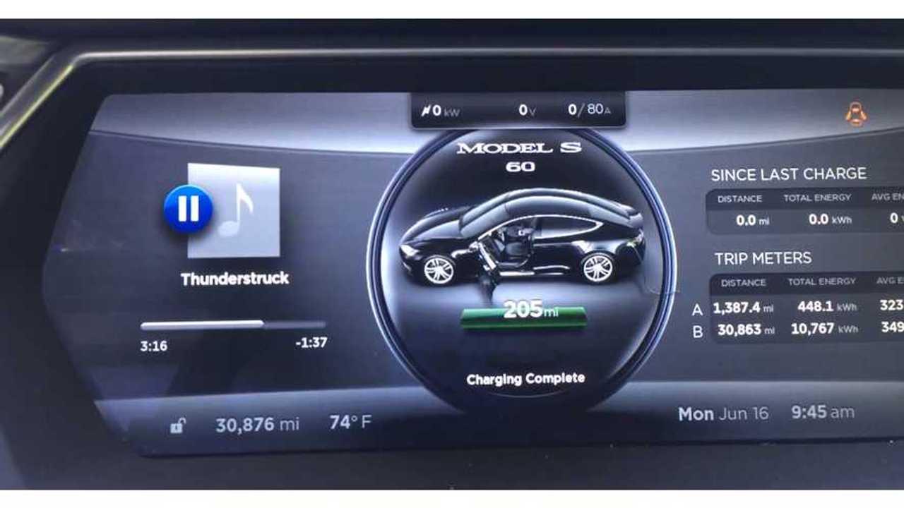 Tesla Model S Screen Shot - KmanAuto