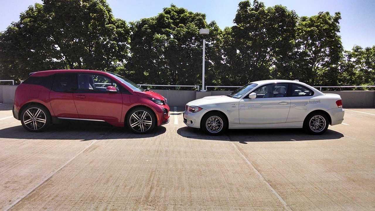 Photo Comparison: BMW ActiveE Next To BMW i3
