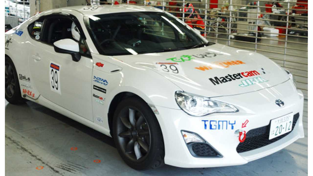 Converted Toyota FT86 EV Wins Third Round of 2014 All Japan EV-GP Series (w/video)