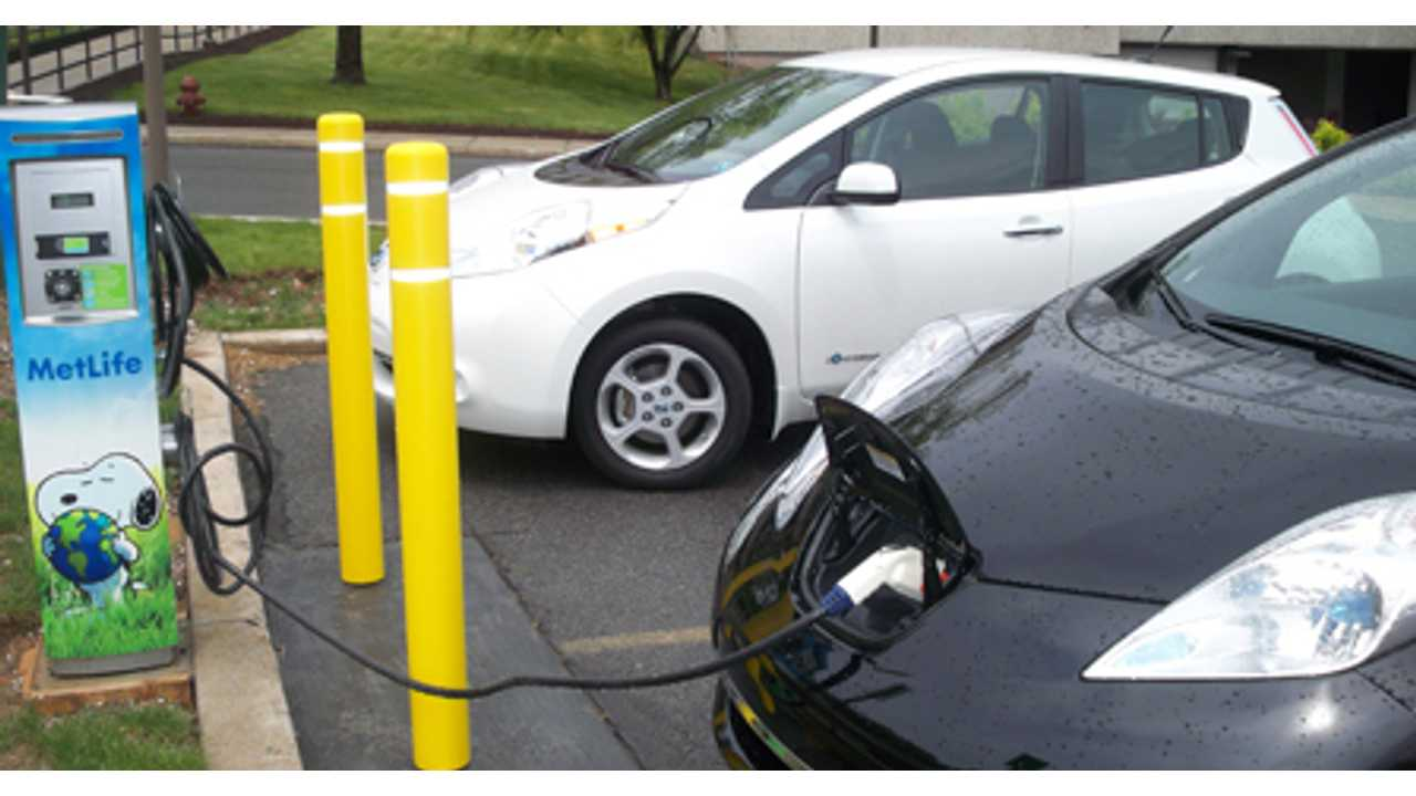 The 8 State Action Plan Would See More Promotion Of Workplace Charging Along With More Uniform Public Charging Signage