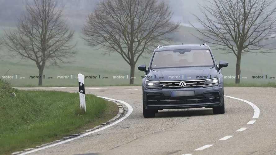 VW Tiguan R yeni casus fotoğraflar