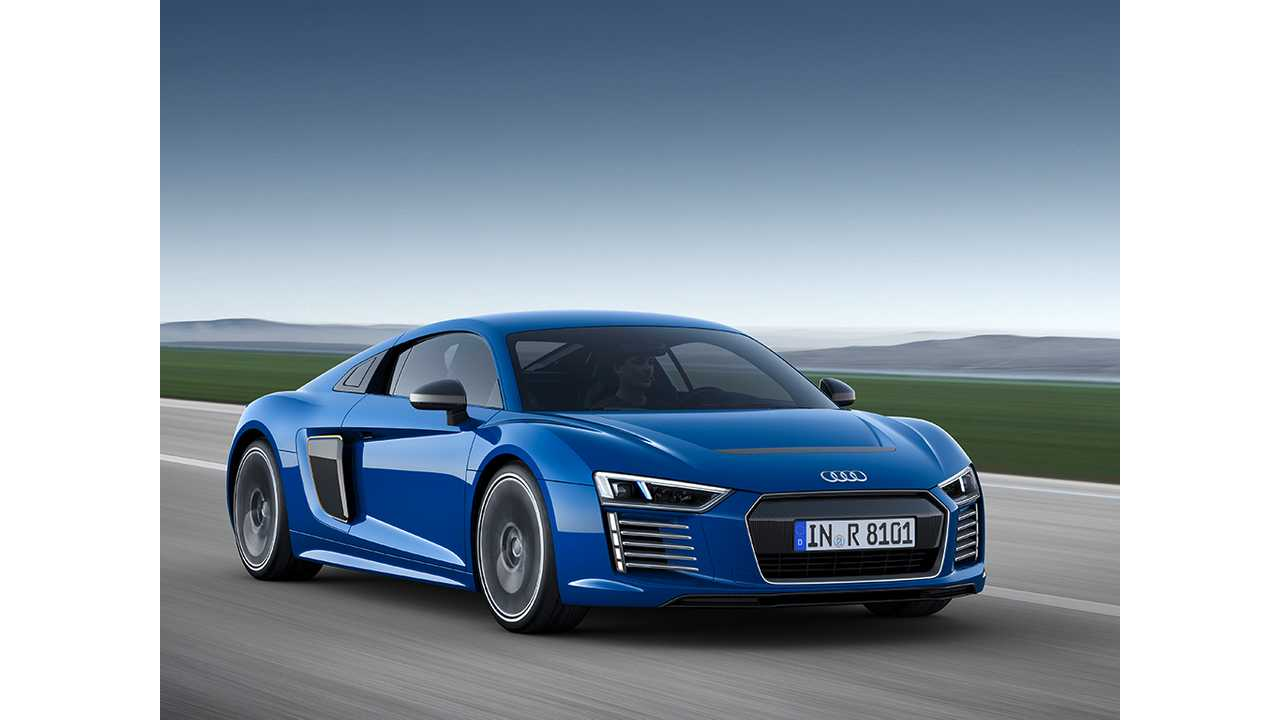Exclusive: Audi R8 e-tron Not Offered In U.S.