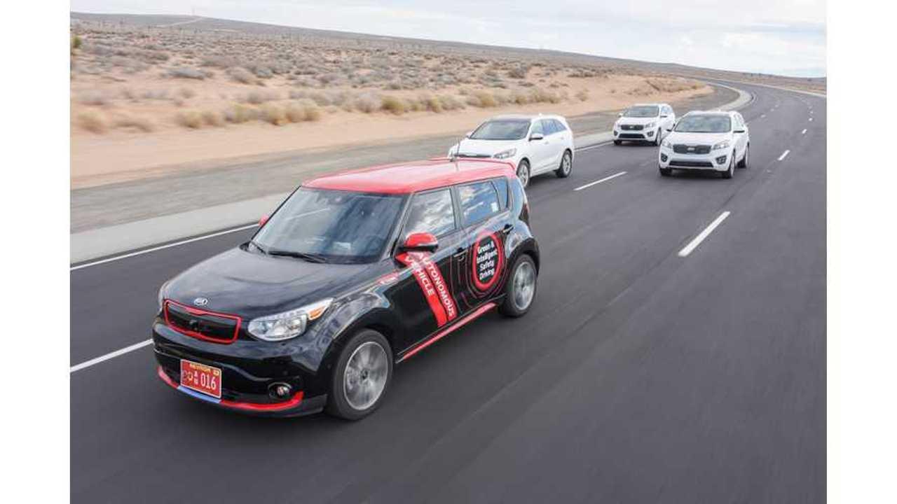 Kia Launches Drive Wise Autonomous Car Sub-Brand