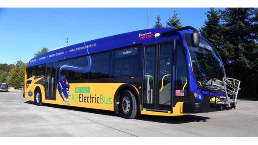 King County Metro's Proterra Catalyst FC Electric Bus - Videos