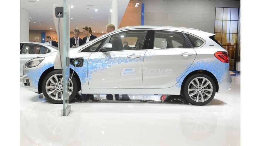 BMW 225xe At The 2015 Frankfurt Motor Show