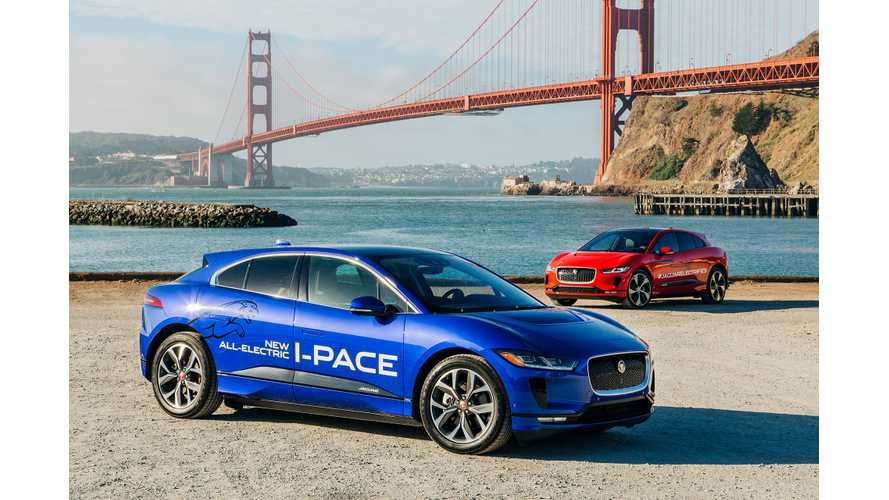 Jaguar Will Electrify U.S. With National I-Pace Campaign