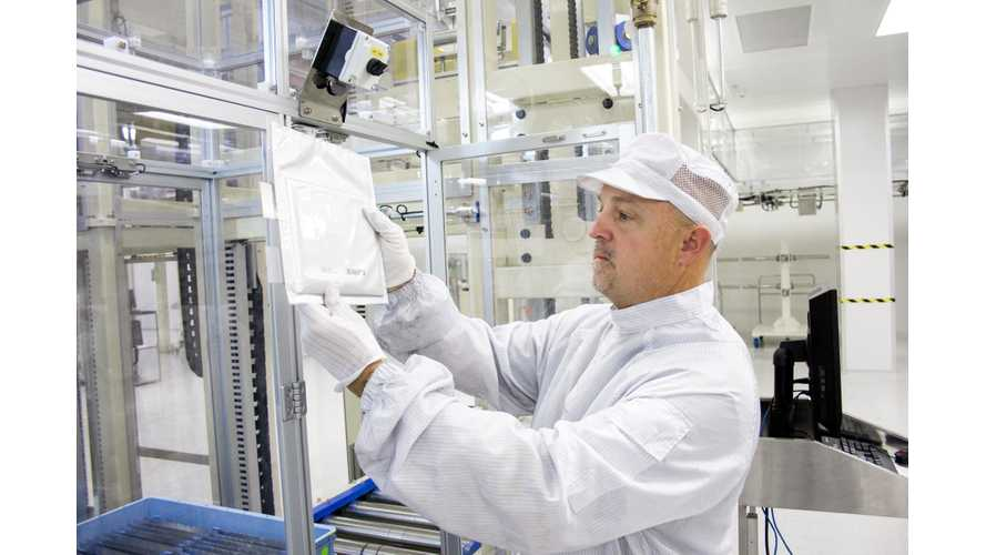 LG Chem's Holland, Michigan Battery Factory Ready To Meet Increasing Cell Demand