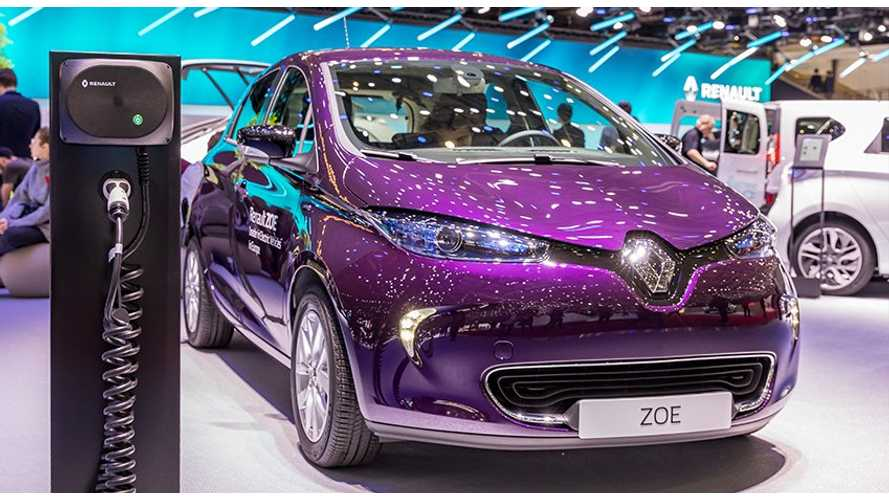 France Sets New Plug-In Electric Car Sales Record - Over 6,150!
