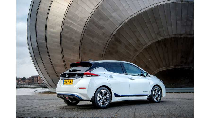 Nissan LEAF Prices Increase A Little Bit In Europe