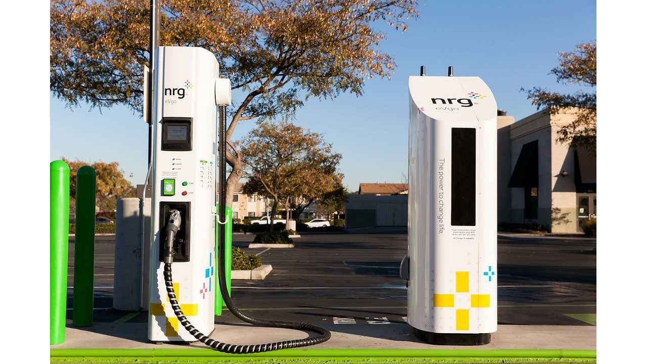 NRG Analyzes 10 EVgo Freedom Sites: Fast Charging Preferred 12 To 1 Over L2