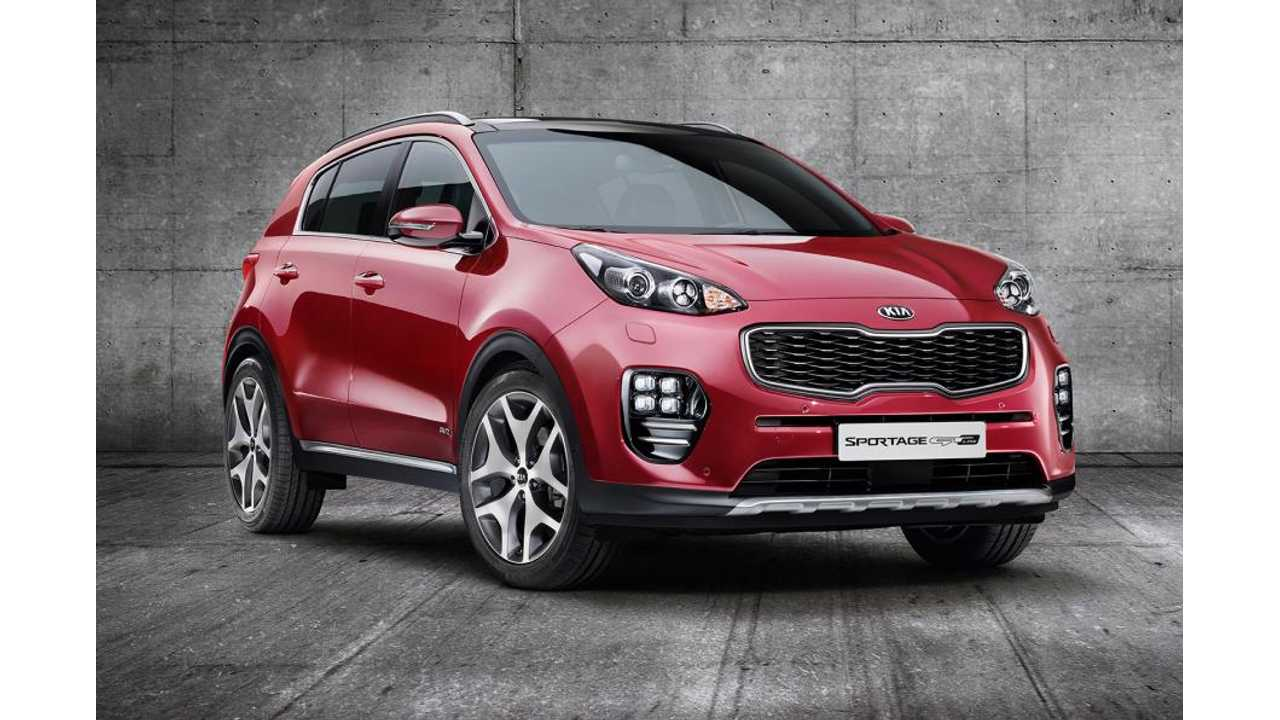 Kia Hints At Possibility Of Plug-In Sportage