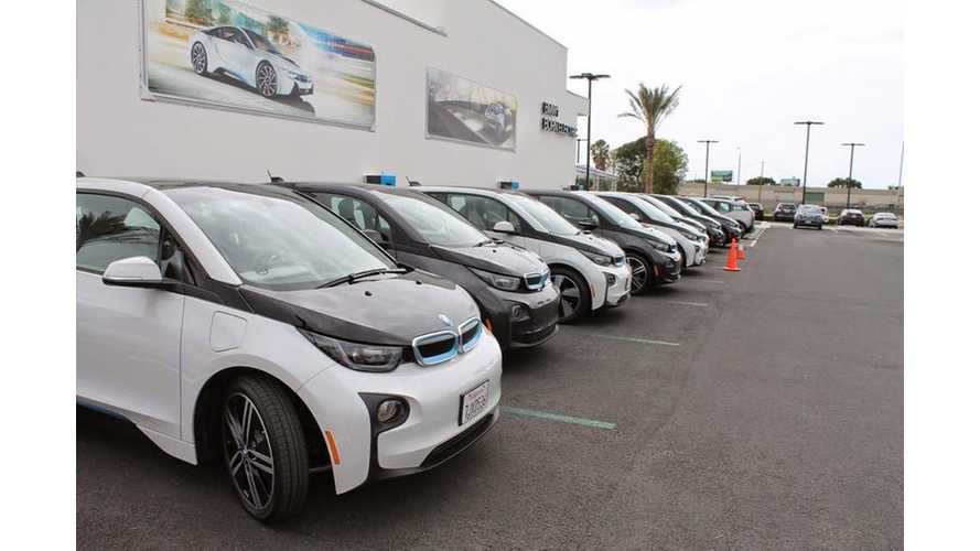 Global BMW i3 & i8 Sales For First Half Of 2015