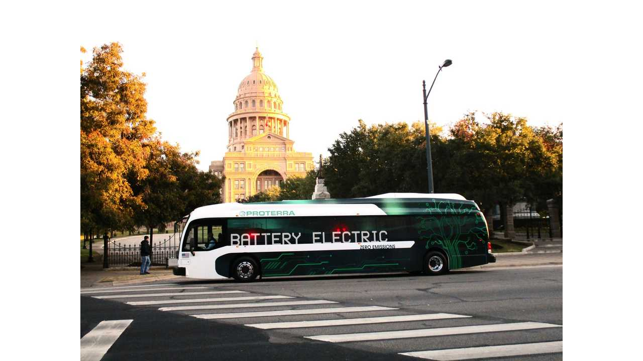 Proterra Introduces Longer Range Electric Buses - Up To 180 Miles