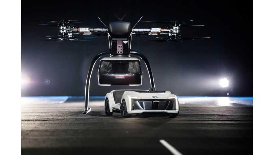 Audi, Airbus & Italdesign Demonstrate Pop.Up Next