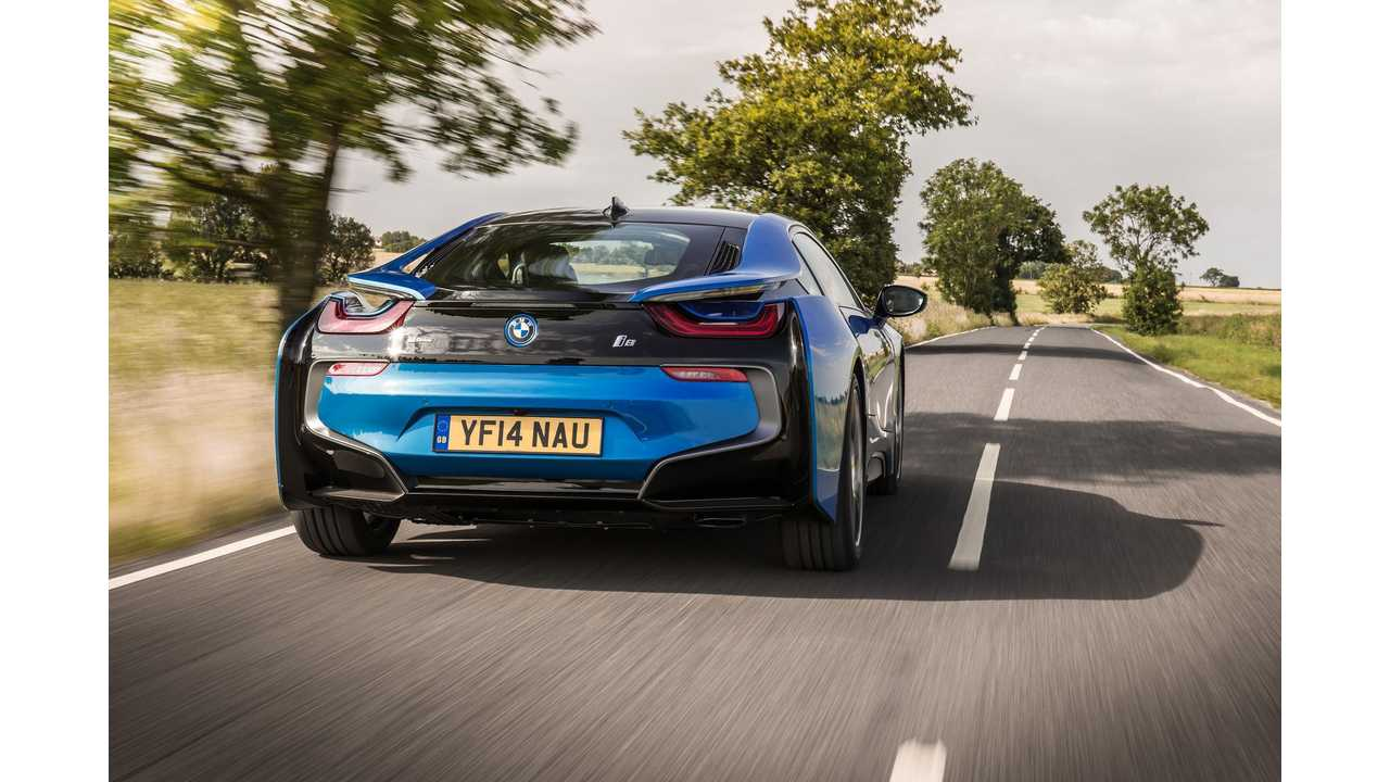In 2015, BMW Sold Over 29,500 i3 & i8 -1.55% Of Total BMW Sales