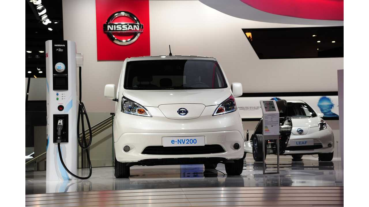 2016 Nissan e-NV200 Review - Video