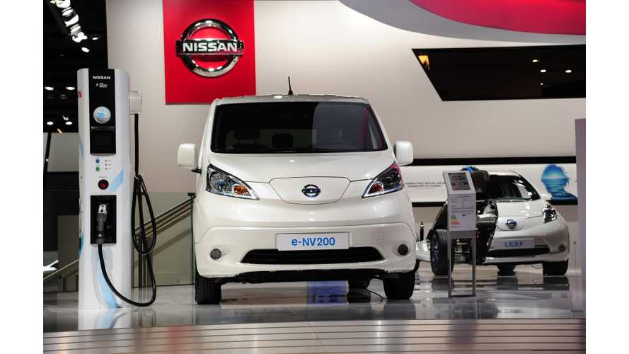 2016 Nissan e-NV200 Review - Video
