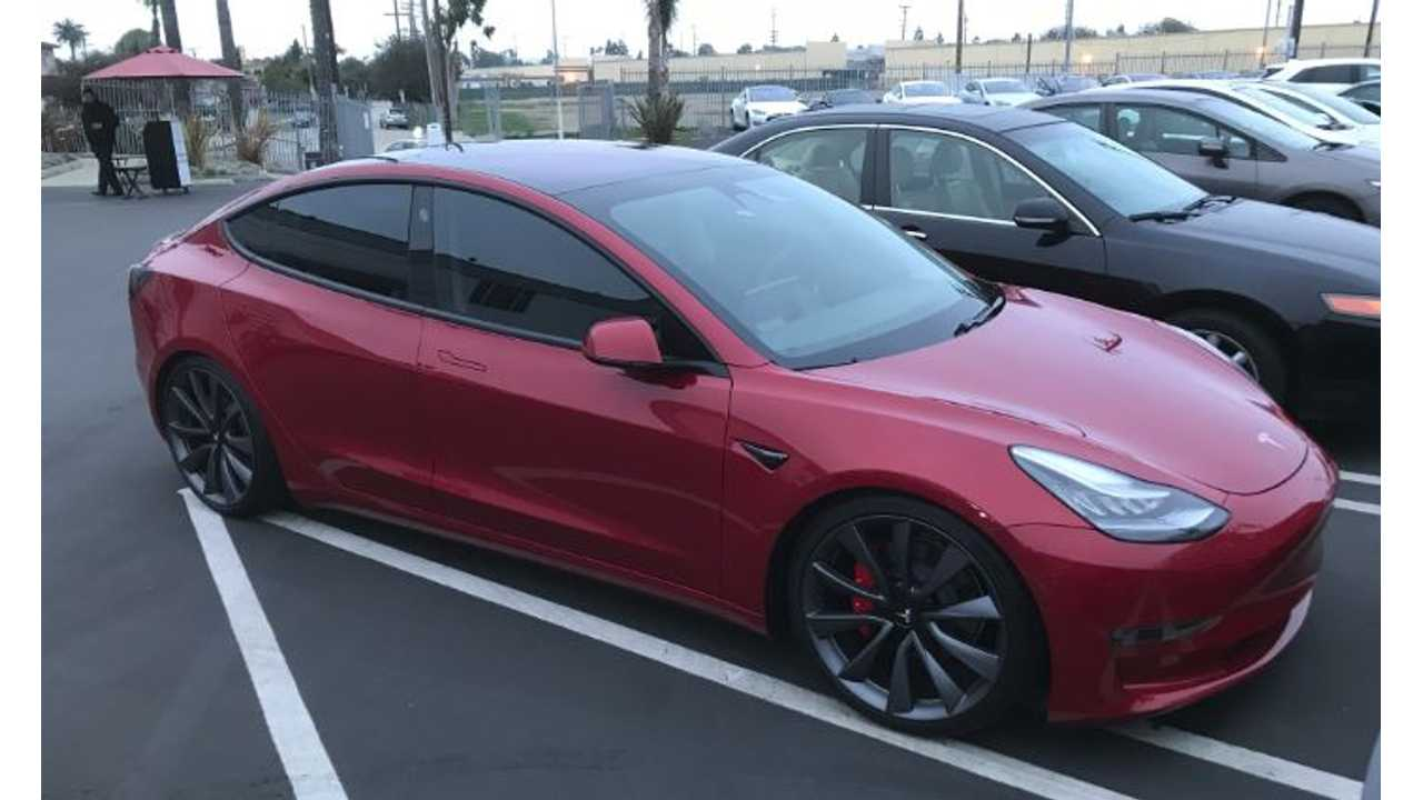 Musk Tweets - Tesla Model 3 Lease + Performance Update, Red Interior In 2019