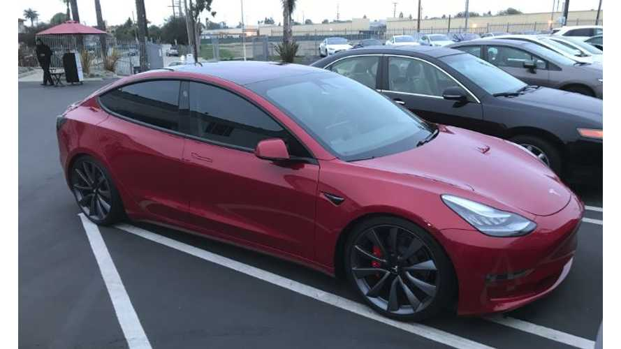 Musk Tweets - Tesla Model 3 Lease + Performance Update, Red Interior In 2019