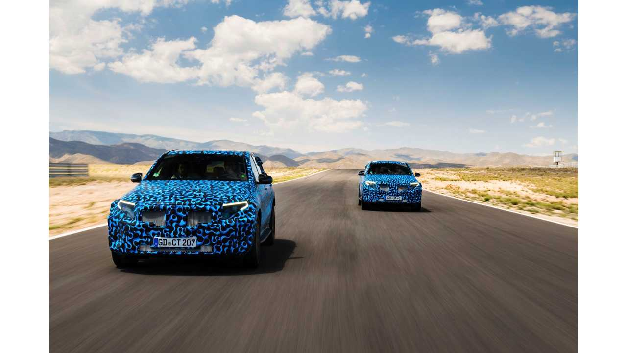 Mercedes-Benz EQ C To Debut September 4