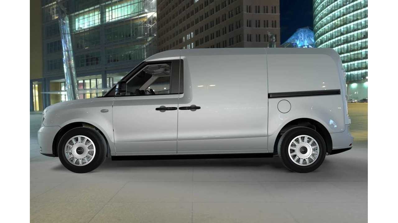 London's Black Cab Maker Shows Off Electric Van