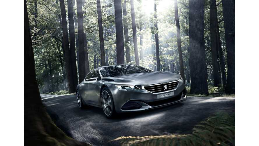 Peugeot Announces EXALT Concept For Paris Motor Show