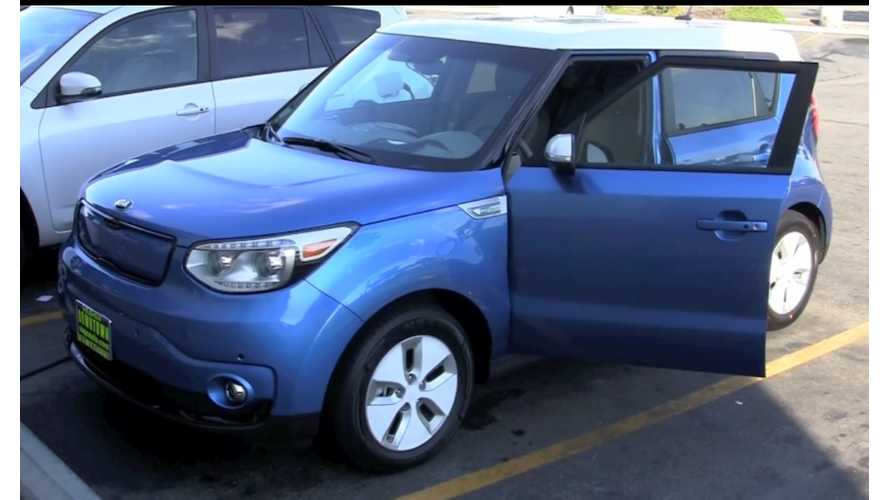 Kia Soul EV Range Autonomy Demonstration Nets More Than 100 Miles - Video