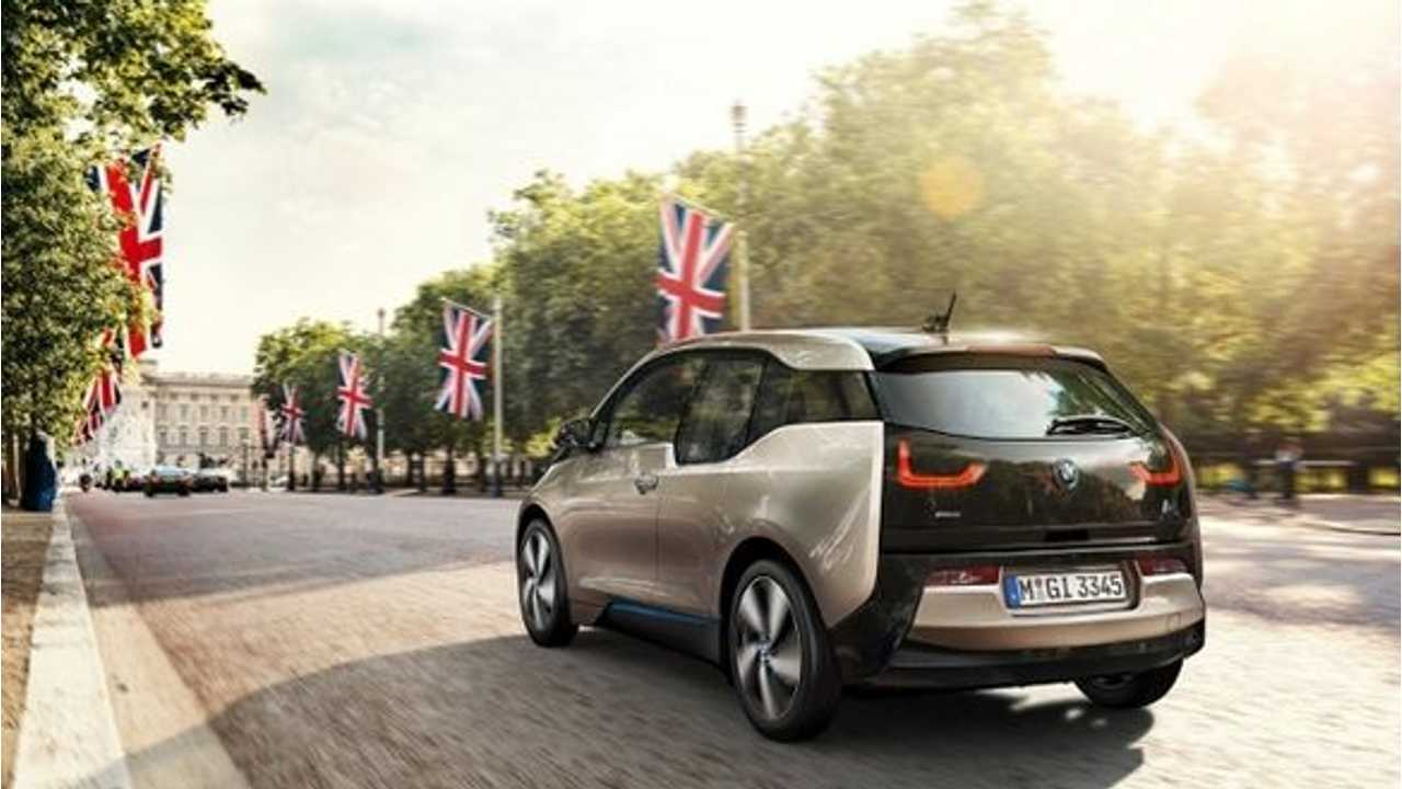 BMW i3 Sales Now Over 1,000 Units In UK - 60% REx Version