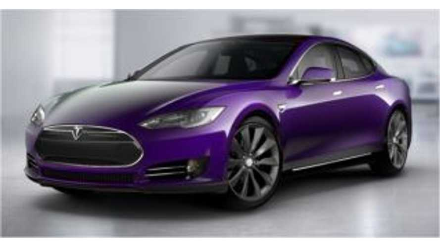 Game Of Thrones Author Shuns Technology, But Loves His Purple Tesla Model S - Video