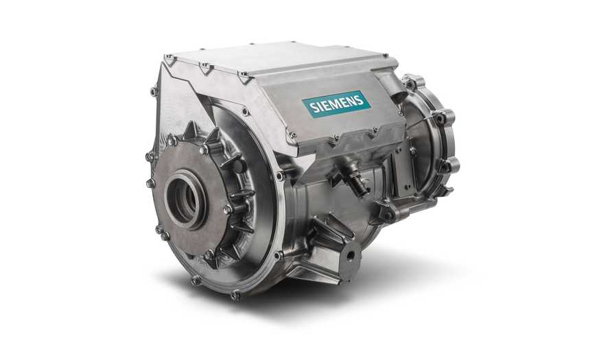 Siemens Integrates Electric Car Motor/Inverter Into Single Unit