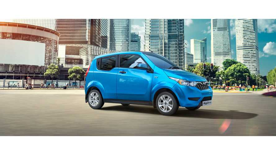 Mahindra Unveiled Four Door e2oPlus EV, With Up To 87 Miles Range