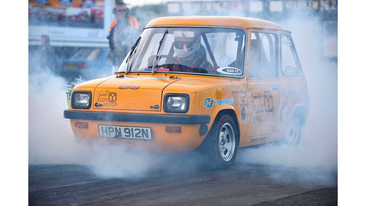 The Enfield 8000 (Flux Capacitor) smashes world speed record