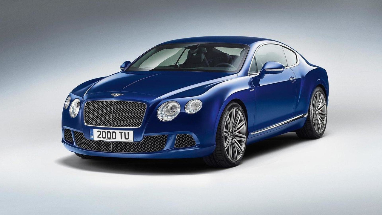2013 Bentley Continental Gt Speed Revealed Debut At Goodwood