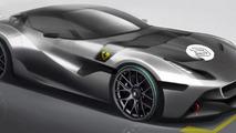 One-off Ferrari for Cheerag Arya 27.8.2012