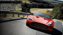 Aston Martin V Zagato Leaked With Specifications - Aston martin v12 zagato specs