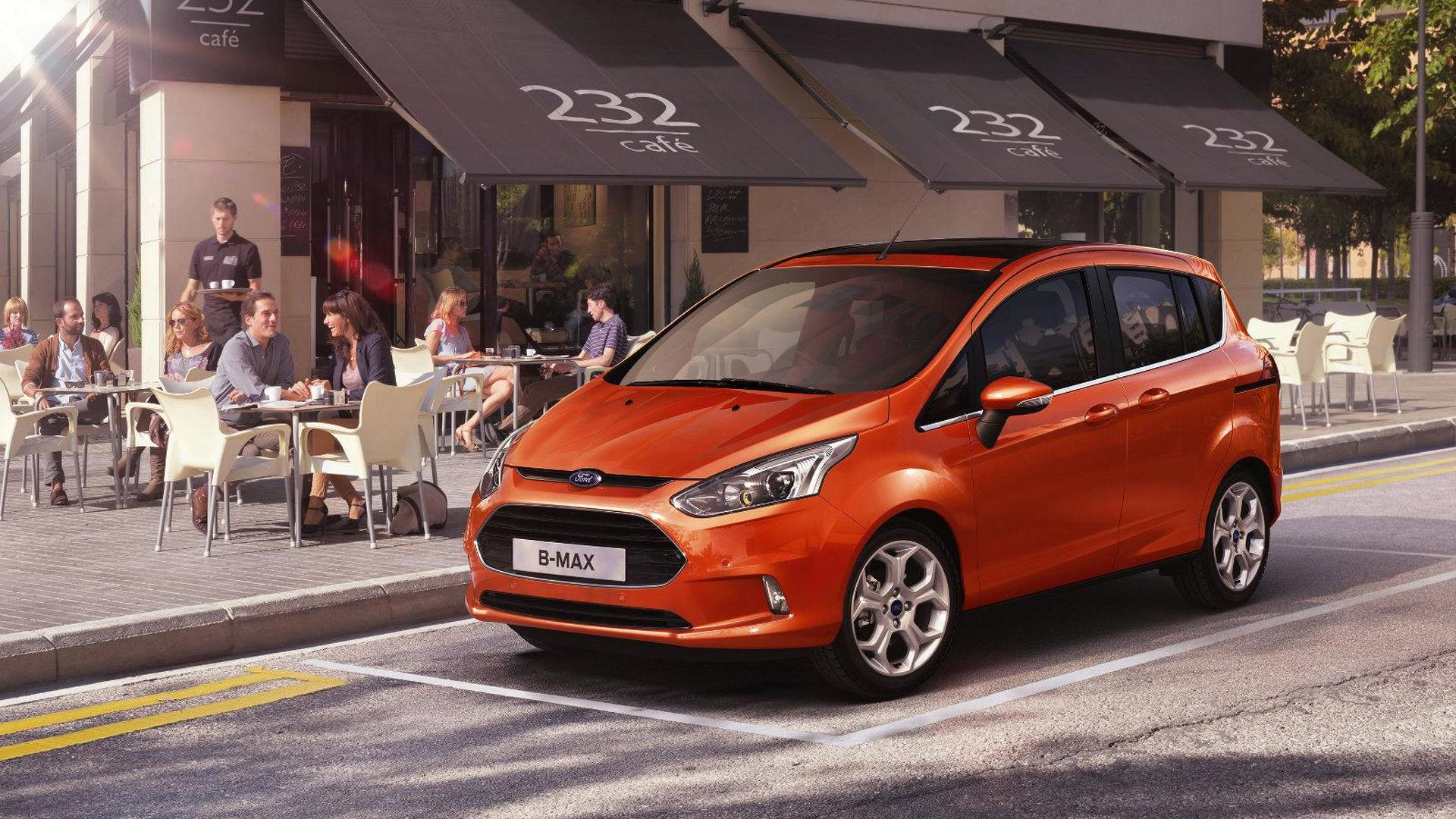 Ford B Max Will Die In September Because Crossovers