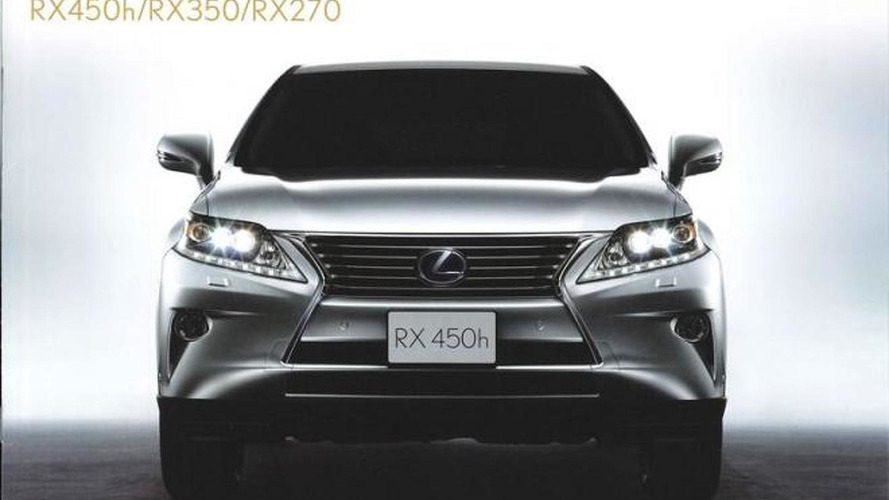 Lexus teases new RX 450h and F SPORT debut in Geneva